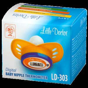 Цифровой термометр-соска LD-303